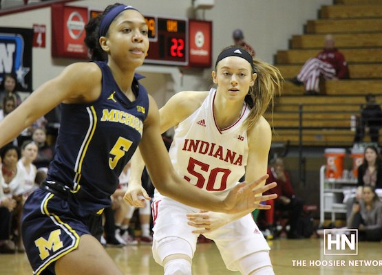 'She's just a special human being': Wise brings 'good juice' as Hoosiers win without leading scorer