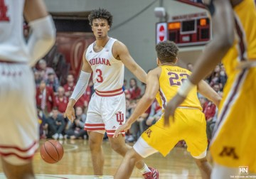 Hoosiers on cusp of making tournament ahead of Wisconsin rematch