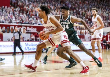 Indiana wastes career day from Jackson-Davis in defensive collapse against Michigan State