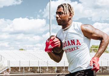 Deland McCullough's sons built their football foundations at Indiana. Now it's coming full circle