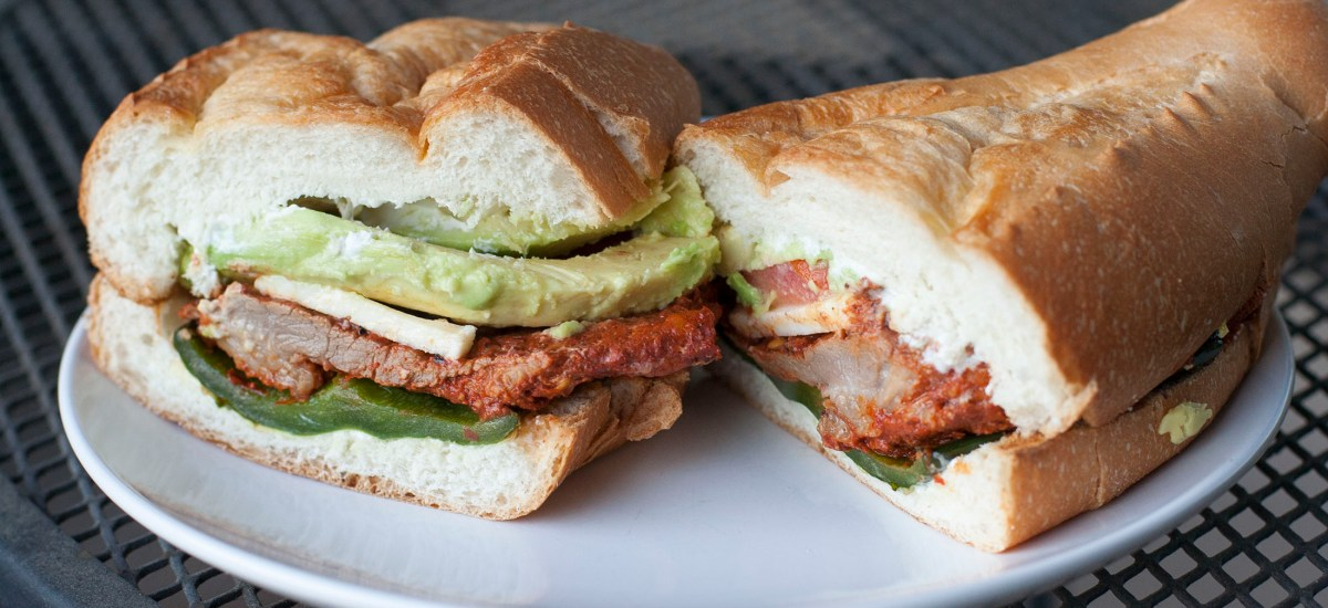 Marinated Pork Torta