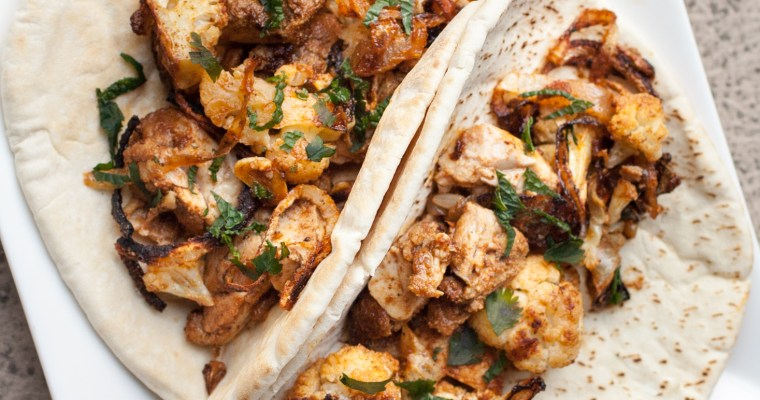 Chicken Cauliflower Shawarma
