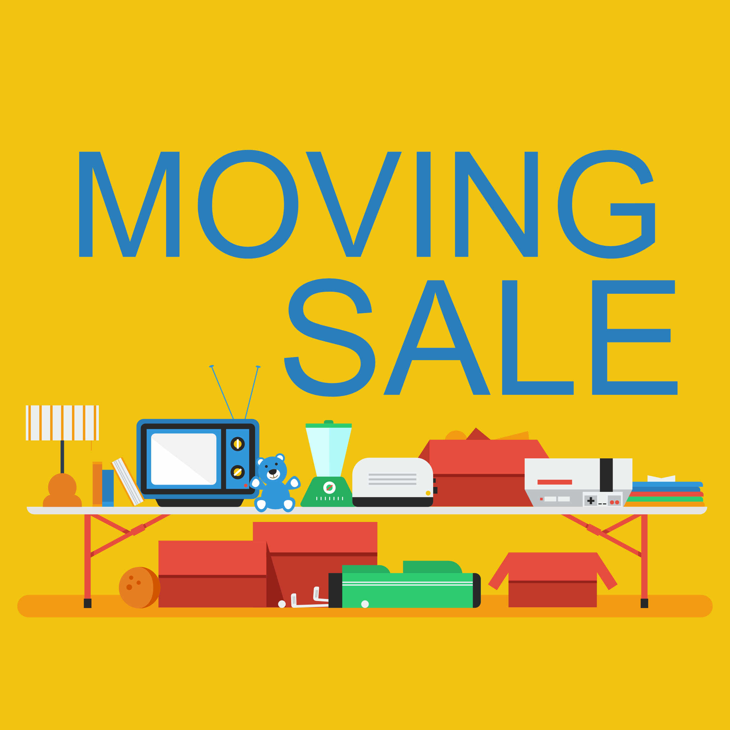 Church Moving Sale