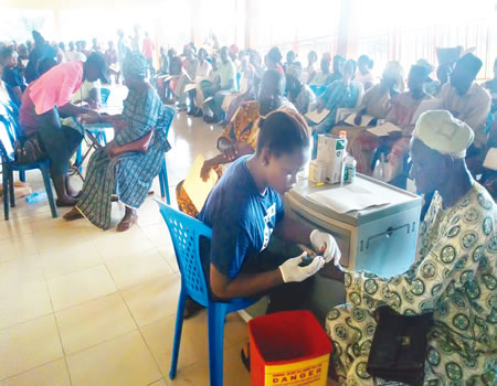 5000 people benefit from Okitipupa free health care