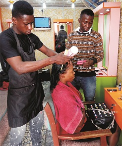 Hairdresser wants skill acquisition centres for youths