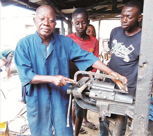 'I make more money as Blacksmith  than could have made as a police'