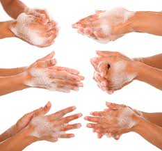 'Hands washing saves lives'
