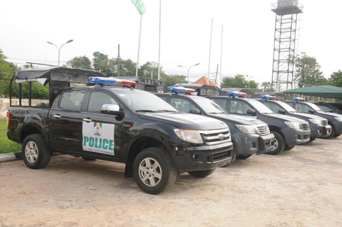 Security: Ondo donates vehicles to police
