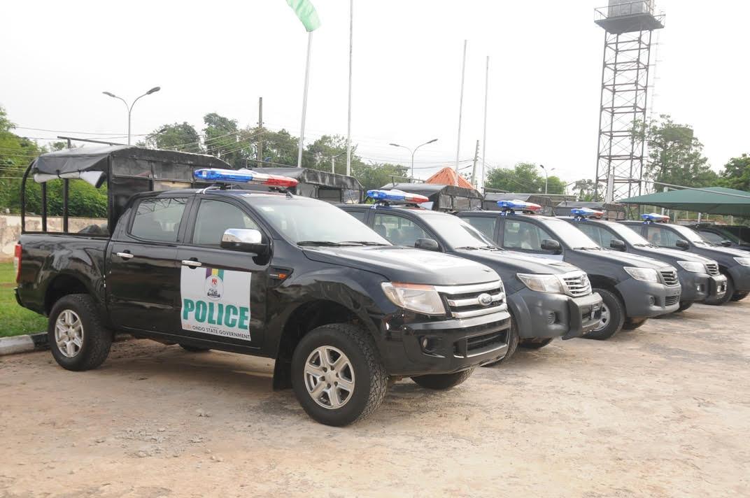 Security: Ondo donates vehicles to police