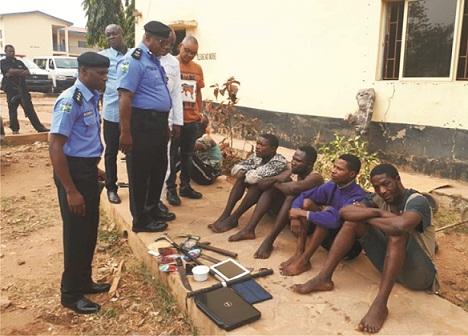 Ekiti police nabbed 4 for murder, cultism
