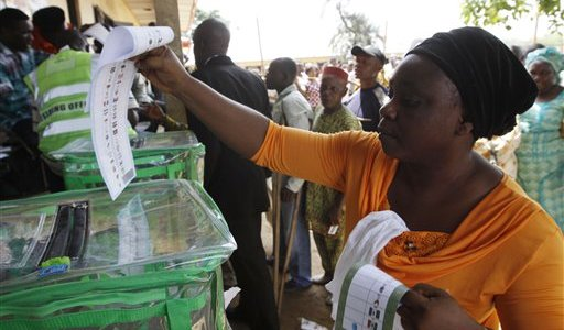 We're not discouraged –voters