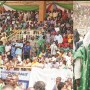 Buhari in Akure, canvases for votes