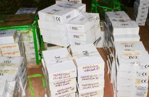 Ekiti INEC distributes sensitive materials