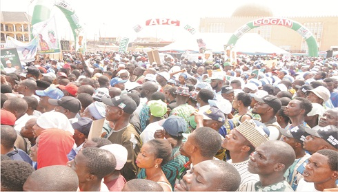 The electrifying welcome for Buhari in Akure