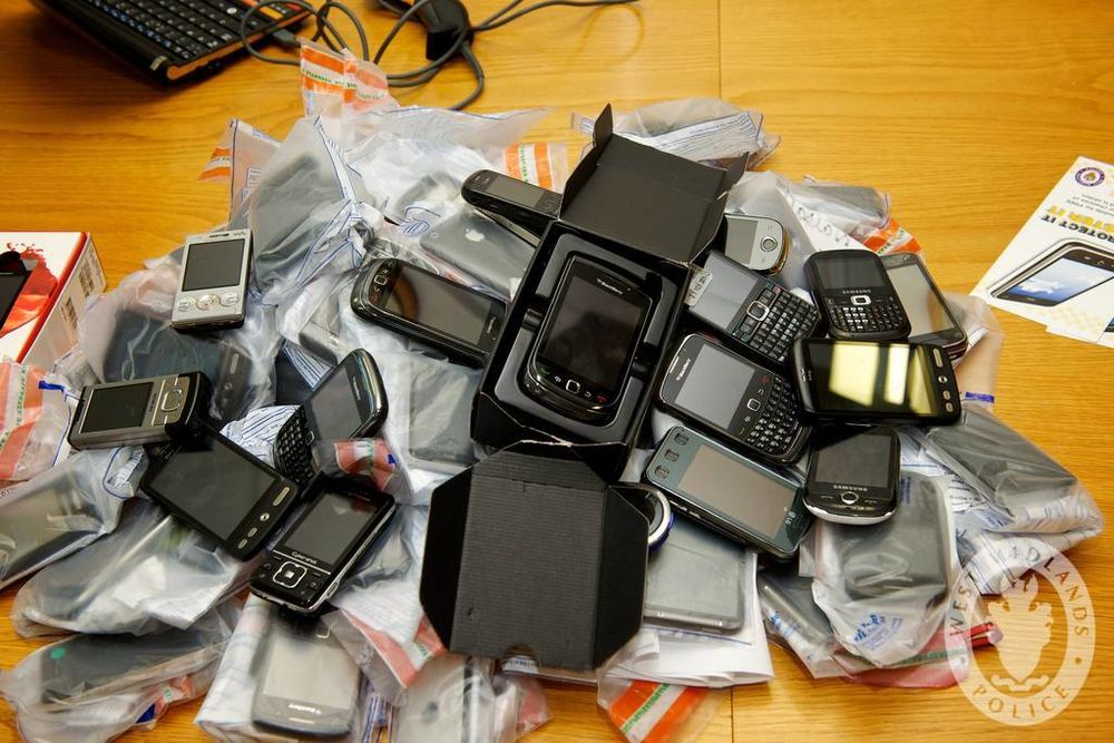 Man in court for alleged phone theft