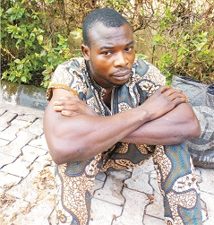 Police arrest man using wife's underwears for ritual