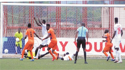 Sunshine Stars knock Rising out of FA Cup