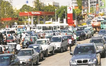 Motorists groan as queues return to filling stations