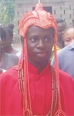 16-yr-old crowned Okeluse monarch
