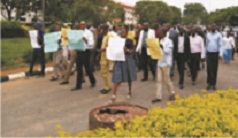 Varsity workers protest non-remittance of N1.8b Coops deductions