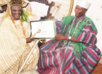 Obesere becomes Agbaakin Bobagunwa of Yoruba land