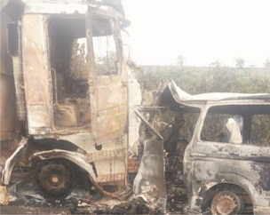 Overtaking causes autocrash where 19 burnt to death –FRSC