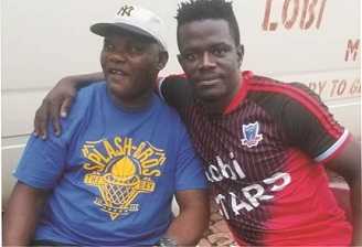 Kayode Julius reconciles with Lobi's goal keeper