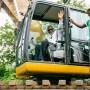 New Amphibious Excavator 'll help to combat flooding