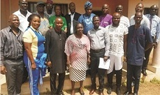 Sports Commissioner visits ODSFA