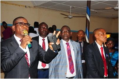 Aragbaiye explains LG workers' screening