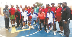 Handball veterans immortalise Gloria Udofia