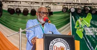 Our commitment to infrastructural devt total –Akeredolu