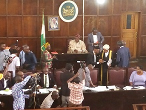 ODHA signs bill to rename OSUSTECH after Agagu into law