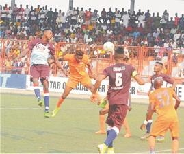 NPFL: Warri Wolves put three past Sunshine Stars