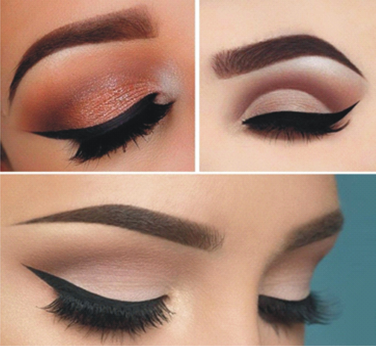 Lace your eyebrows with beauty