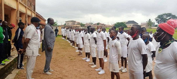 Amotekun pioneer cadets for graduation tomorrow