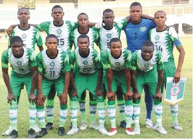 WAFU U-17: Amoo blames pitch  for Eaglets poor performance