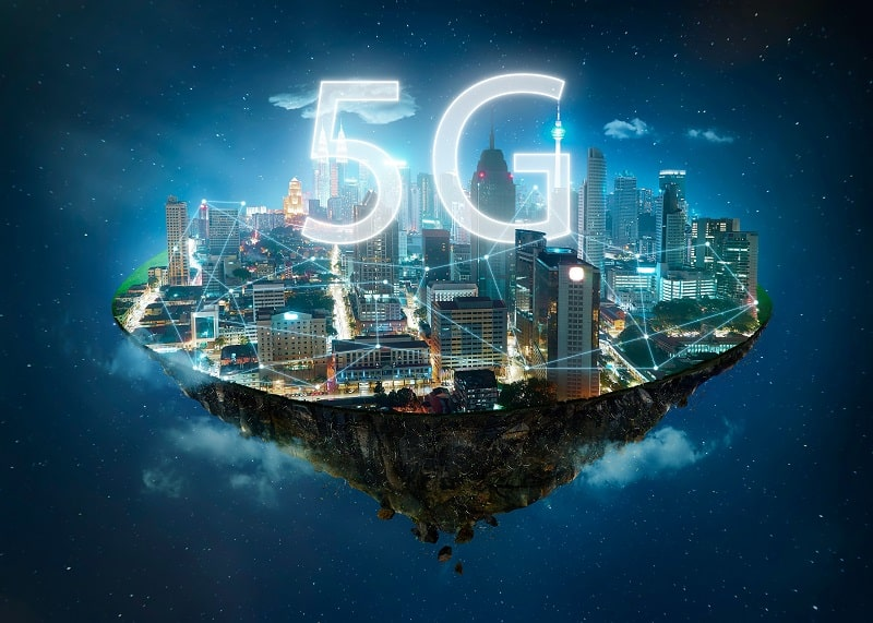 5G uses a wide range of radio frequencies from the lower end of the spectrum that we already use for television and Wi-Fi