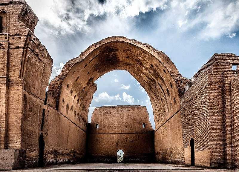 Archway of Ctesiphon near Baghdad, Iraq