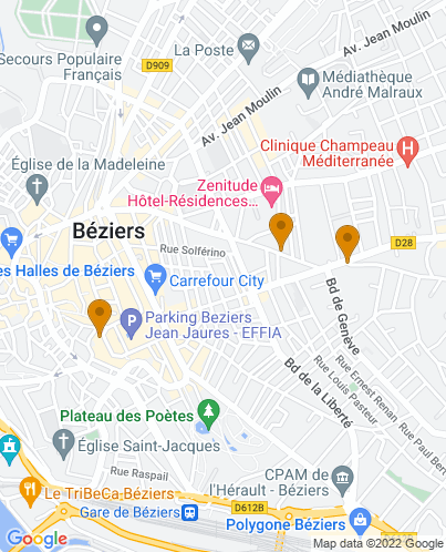 best places to stay in beziers france
