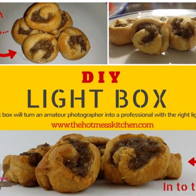 DIY Light Box Tutorial