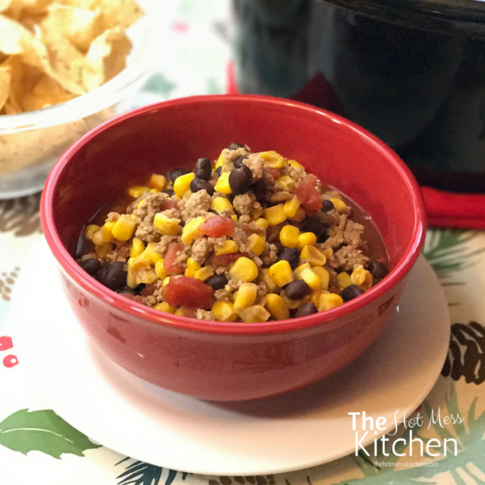 turkey chili - TheHotMessKitchen.com 2017