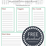 inventory meal planner - main image