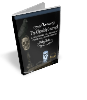 The Ghoulish Gourmet - eBook cover - Kathy Hester