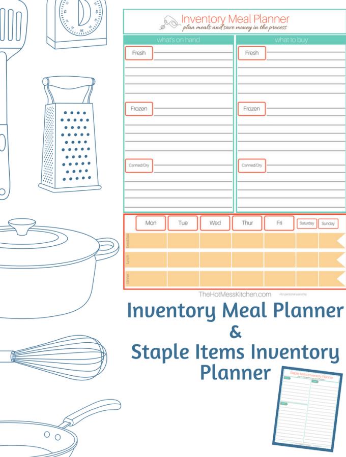 Staple Items Inventory Planner - thehotmesskitchen.com