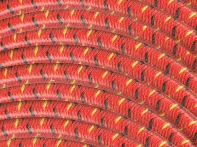 7.8mm Cotton Braid Spark Plug Wire - For Electronic Ignition - The ...