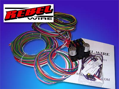 Rebel Wire 8 circuit wiring harness - The Hot Rod Company