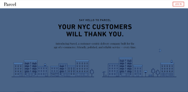 courier company website design