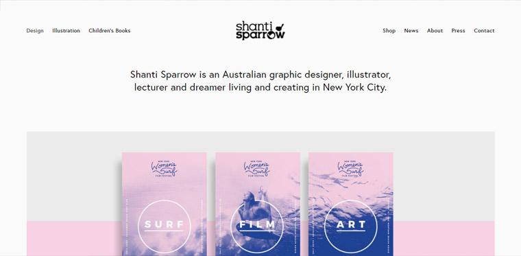 Website template inspiration