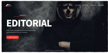 photography portfolio wordpress theme